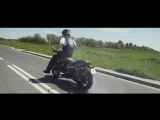 Guinness World Record in the longest motorcycle burn-out (Harley-Davidson Street Rod)