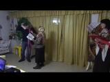 Импровизированная инсценировка родителей воскресной школы