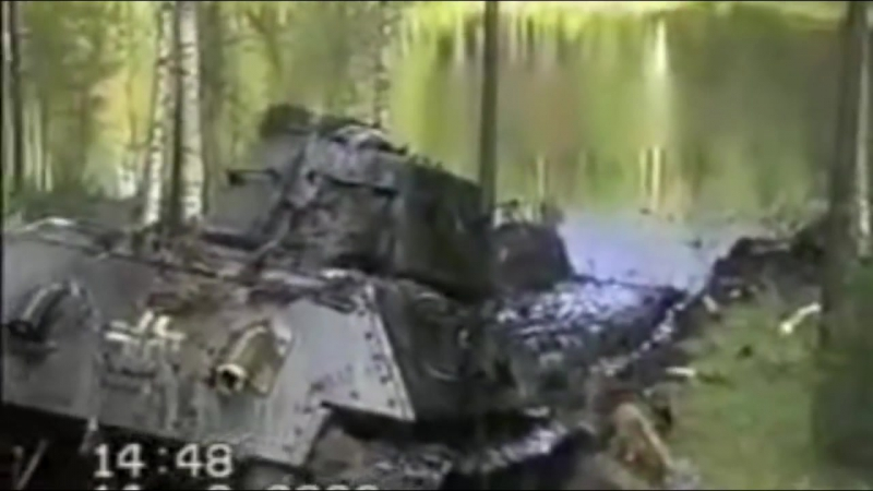 Pulling_the_WWII_Tanks_and_Armored_Troop-Carriers_Out_of_the_Swamp