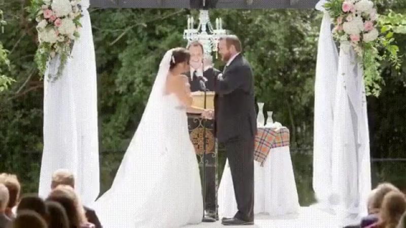 Декриминализация насилия Нет просто пчела очень вовремя приземлилась на невесту Но это не точно