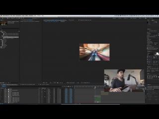 Имитируем видео на длинной выдержке в Adobe After Effects AE CC
