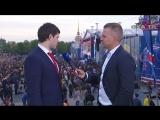 Евгений Дадонов на чемпионском параде СКА