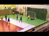 Сейв Артемия Томалака (ИЦЭ) в матче против STECHKIN.