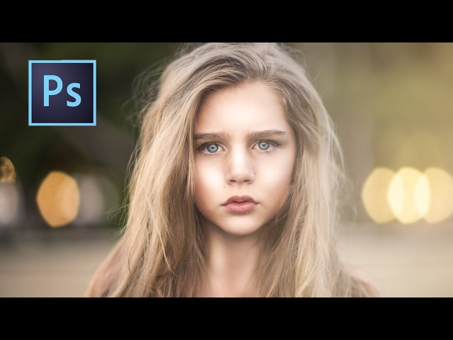 How Retouch Outdoor PORTRAITS in Photoshop (TUTORIAL)
