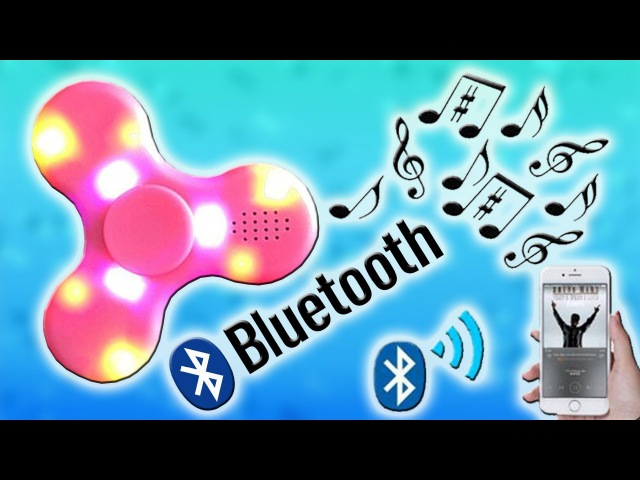 What Is Inside of the Fidget Spinner with Bluetooth Speaker