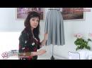 Часть 5 Застежка и выравнивание низа юбки