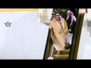 У короля Саудовской Аравии в Москве сломался трап-эскалатор. Видео