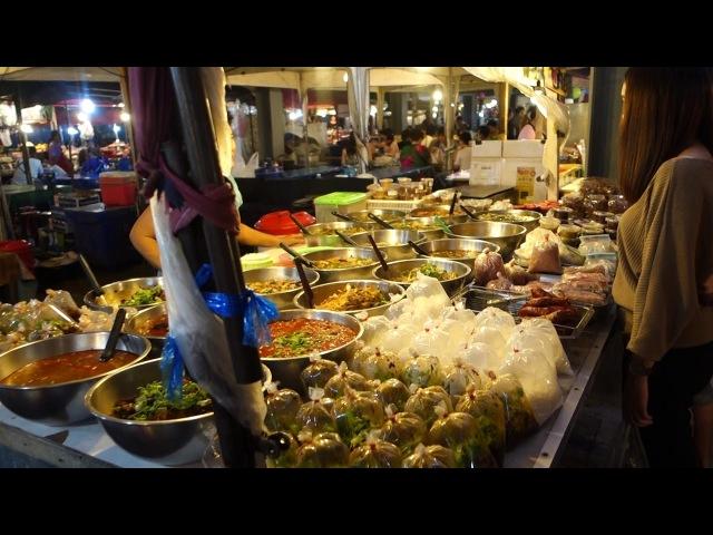Best Street Food in Pattaya Thailand Thepprasit Night Market