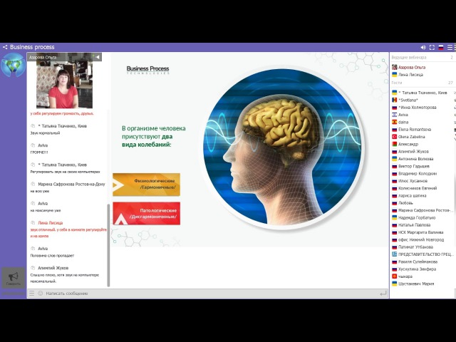 Школа Wellness. Тема: Как научить мозг учиться! Пр-мы развития в приборе life balance.О.Азарова.