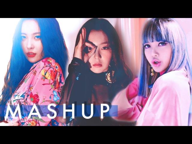 RED VELVET x BLACKPINK x SUNMI – Peek-A-Boo /Whistle /Gashina (피카부 / 휘파람 / 가시나) MASHUP