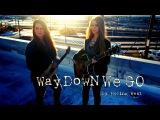 KALEO - Way Down We Go - Facing West cover