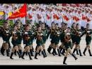 Beautiful Vietnamese Female Military Parade Các nữ chiễn sĩ xinh đẹp Việt Nam