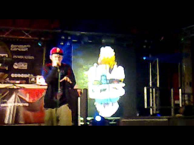REEPS ONE Beatboxer heavy at Global Energy 2011