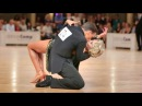 Maxim Stepanov Ksenya Rybina danceComp Wuppertal 2017 WDSF WO LAT solo J