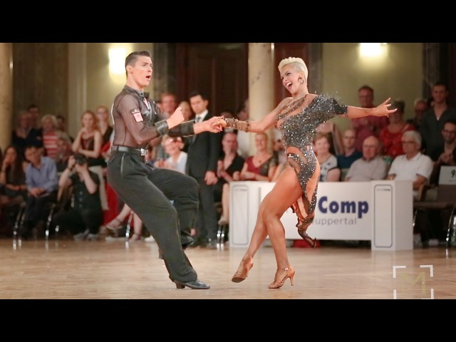 Marius Andrei-Balan - Khrystyna Moshenska | Solo Jive | danceComp Wuppertal 2017 - WDSF WO LAT