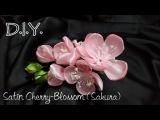 D.I.Y. Satin Cherry-Blossom (Sakura)