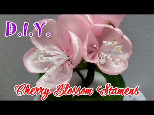 D.I.Y. Cherry Blossom Stamen - Tutorial | MyInDulzens
