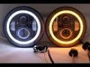 Тяжелая Техника Светодиодная фара 7 дюймов для автомобиля и мотоцикла 7 inch head light