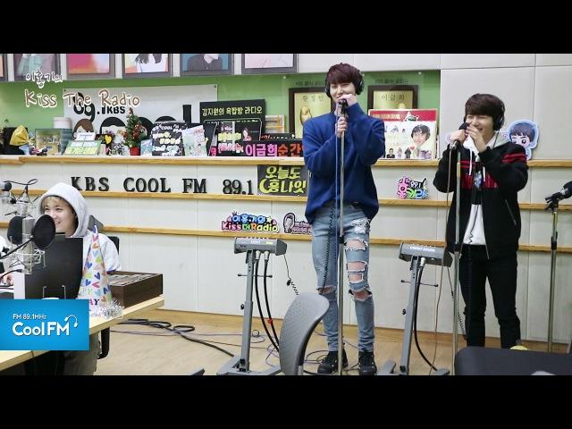 펜타곤(PENTAGON) 진호 신원 'Tears' 라이브 LIVE / 170206[이홍기의 키49828