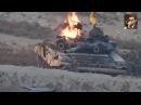 В Сирии сожгли очередной российский танк Т-90!