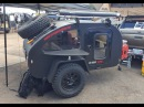 Mini off road tear drop trailer by Oregon Trail'R :Overland Expo 2017