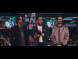 LINKIN PARK AMAs 2017 SPEECH  FAVORITE ARTIST ALTERNATIVE ROCK WINNERS  DEDICATION TO CHESTER HD
