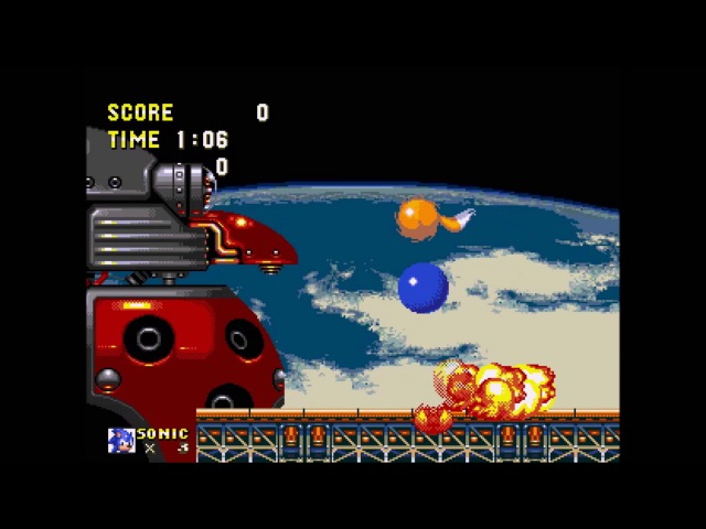 Sonic 3 and Knuckles HD Mod (PC) Walkthrough - Final Attack (Final Boss, Death Egg Zone Act 2)