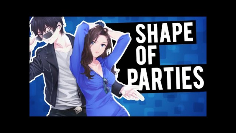 ♪ Nightcore - Shape Of You / Party In The U.S.A. (Switching Vocals)