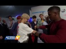 BTS X AMAs - Jimin Swapped Jackets With Scott Evans (Access Hollywood Interview)