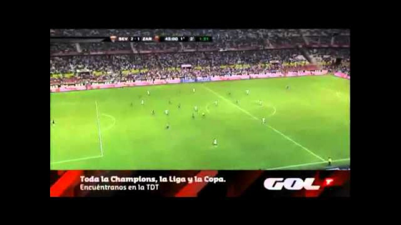 Luís Fabiano - Sevilla 4 x 1 Zaragoza (2009)