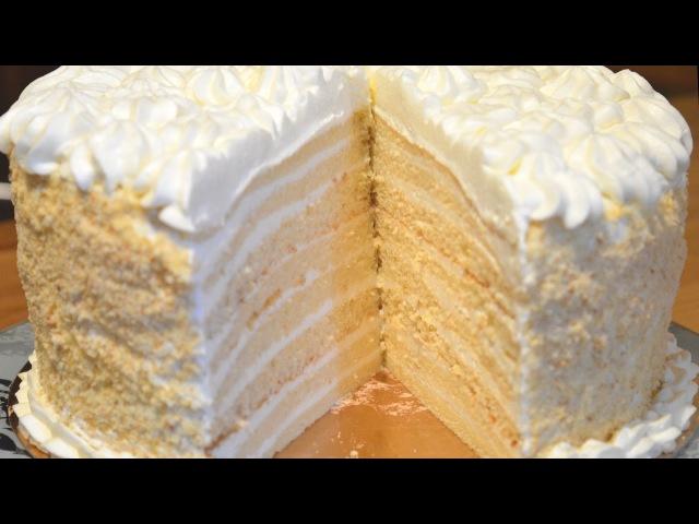 Торт Молочная девочка Мой вариант
