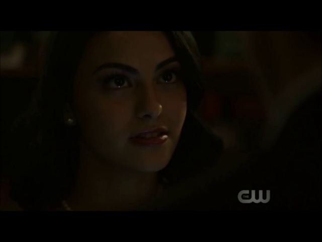 Riverdale 1x01-Closet Scene Archie and Veronica kiss [Upload Request]