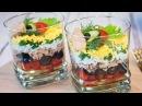 Авторский салат коктейль Гавань рецепт закуски на праздничный стол Веррин с