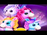Pony Sisters Pop Music Band Play, Sing and Design Pony Care Fun Kids Games