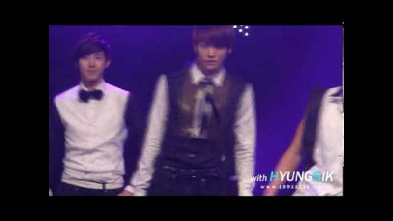 [FANCAM] 100518 ZE:A Hyungsik - LoveStoned