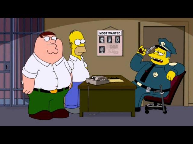 Гриффины. Полицейский участок