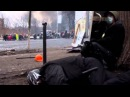 Стрельба снайперами на майдане.Видео с места событий.