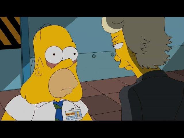 Los Simpson - La Malvada Jefa De Homero - Completo
