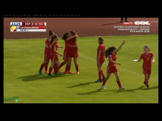 ★ SPAIN 3-0 ICELAND ★ 2017 UEFA Women's U-17 Championship Qualifiers - All Goals ★