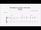 Someday my Prince Will Come - Earl Klugh (Transcription)