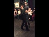 U KIZ XMAS with Donny &amp Nathalie - Beautiful Kizomba Demo
