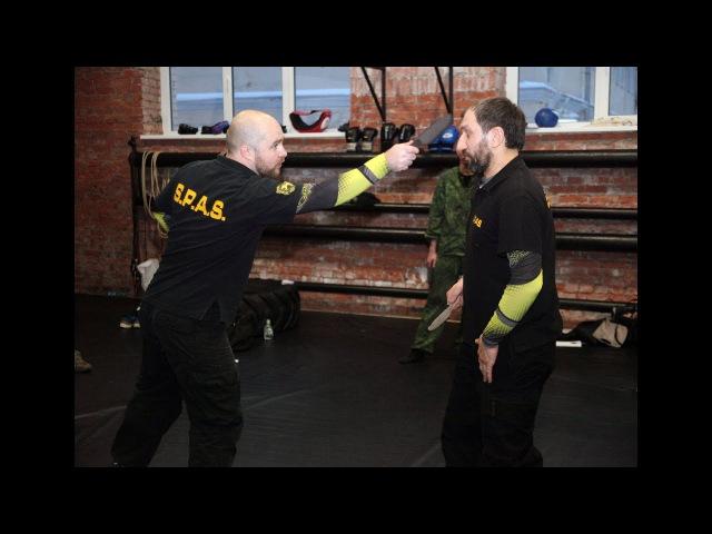 Ножевой бой России часть 2 - база для новичков. Knife fighting S.P.A.S.