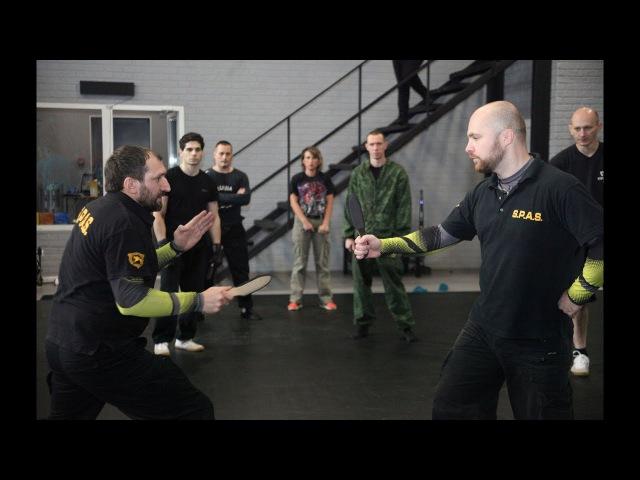 Ножевой бой России часть 1 - база для новичков. Knife fighting S.P.A.S.