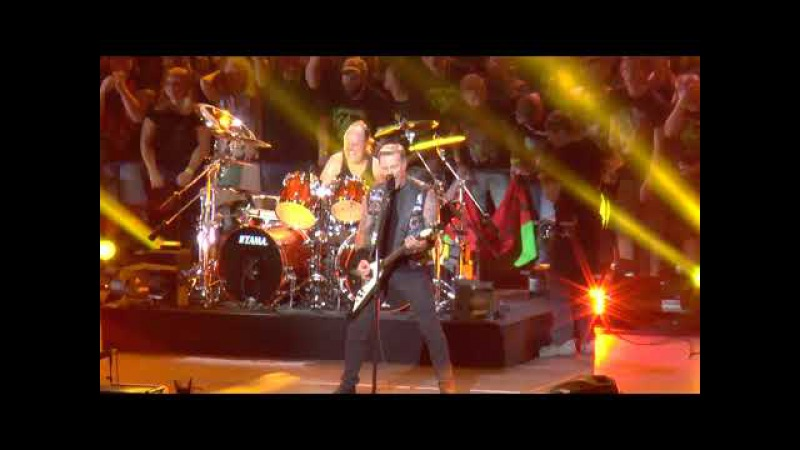 Metallica - Live in Moscow 27.08.2015