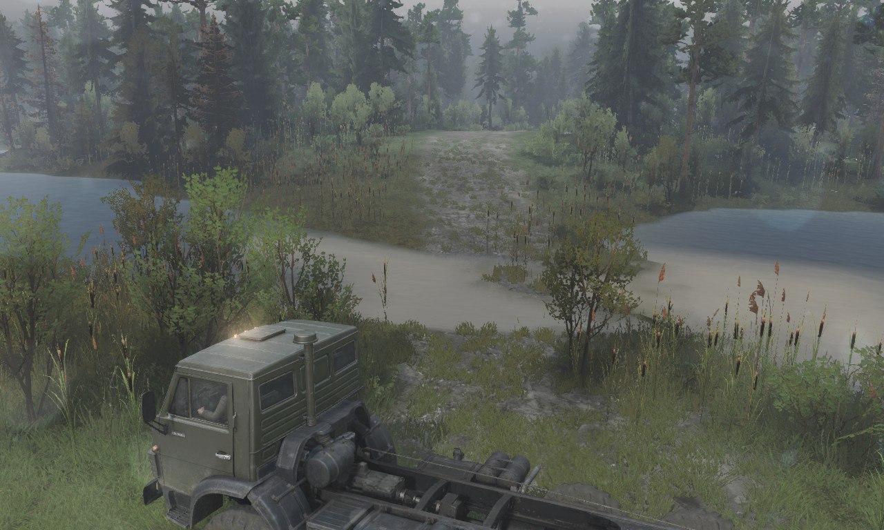 Карта «Countryside» для 03.03.16 для Spintires - Скриншот 3