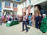 Айдар Галимов на похоронах Хании Фархи