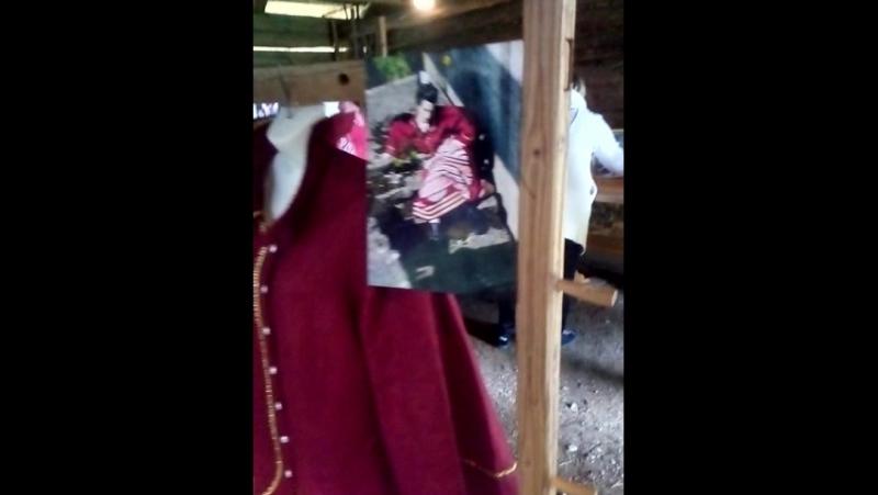 Вярска. Эстония. Подготовка к открытию выставки Alyona Ivanova- Ira Bolshakova