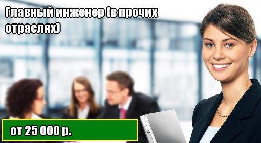 Главный инженер вакансии тверь