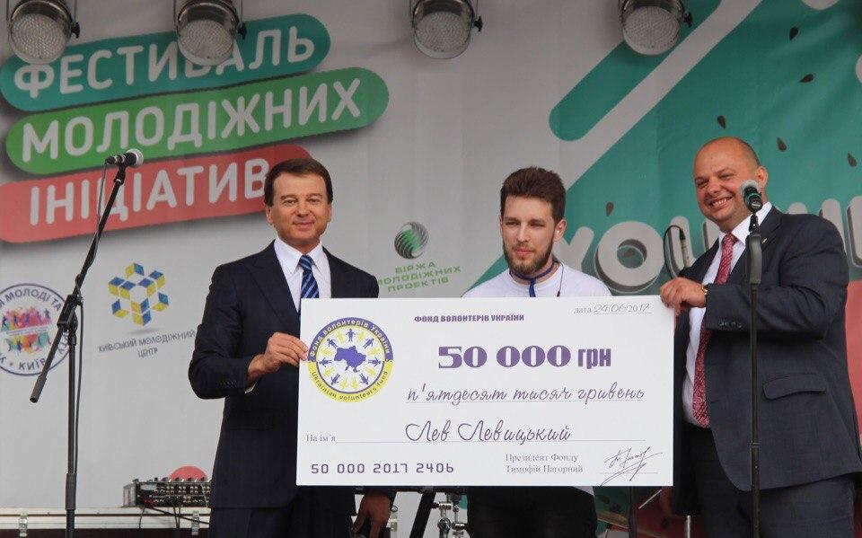 Тимофей Нагорный наградил самого спортивного студента
