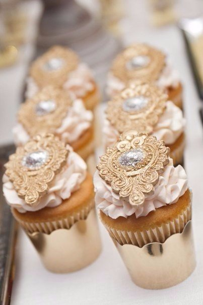 Идеи для свадьбы в золотом